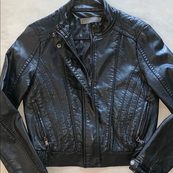 Zara Jackets & Blazers - *Zara* Leather Jacket